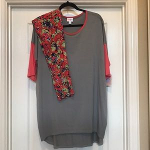 Lularoe Irma and TC Spring leggings SET NWT